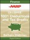 AARP J.K. Lasser's 1001 Deductions and Tax Breaks 2011 (eBook): Your Complete Guide to Everything Deductible