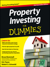Property Investing For Dummies (eBook)