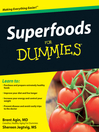Superfoods For Dummies® (eBook)