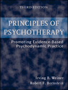 Principles of Psychotherapy (eBook): Promoting Evidence-Based Psychodynamic Practice