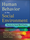 Human Behavior in the Social Environment (eBook): Theories for Social Work Practice