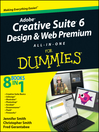 Adobe Creative Suite 6 Design and Web Premium All-in-One For Dummies (eBook)