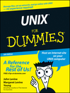 UNIX For Dummies (eBook)