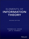 Elements of Information Theory (eBook)