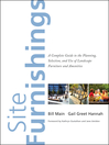 Site Furnishings (eBook): A Complete Guide to the Planning, Selection and Use of Landscape Furniture and Amenities