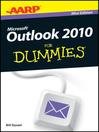 AARP Outlook 2010 For Dummies (eBook)