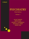Psychiatry  2 by Allan Tasman eBook
