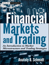 Financial Markets and Trading (eBook): An Introduction to Market Microstructure and Trading Strategies