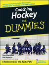 Coaching Hockey For Dummies (eBook)