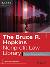 The Bruce R. Hopkins Nonprofit Law Library (eBook): Essential Questions and Answers