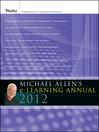 Michael Allen's 2012 e-Learning Annual (eBook)
