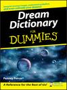 Dream Dictionary For Dummies (eBook)
