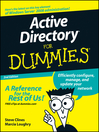Active Directory® For Dummies® (eBook)