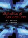 Statistics at Square One (eBook)