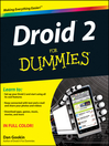 Droid 2 For Dummies (eBook)