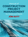 Manual of Construction Project Management (eBook): For Owners and Clients