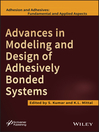 Advances in Modeling and Design of Adhesively Bonded Systems (eBook)