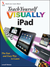 Teach Yourself VISUALLY iPad (eBook)