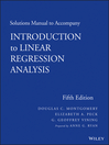Solutions Manual to Accompany Introduction to Linear Regression Analysis (eBook)