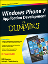 Windows Phone 7 Application Development For Dummies (eBook)