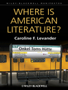 Where is American Literature (eBook)