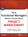 What Functional Managers Need to Know About Project Management (eBook)