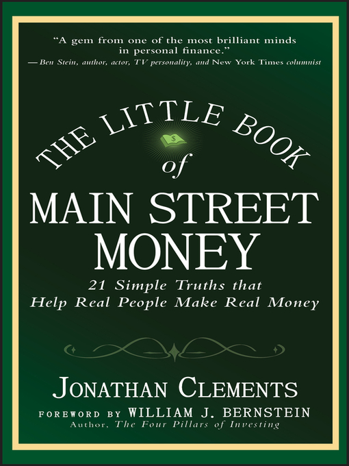 The Little Book of Main Street Money (eBook): 21 Simple Truths that Help Real People Make Real Money