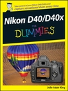 Nikon D40/D40x For Dummies (eBook)