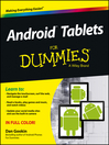 Android Tablets For Dummies (eBook)