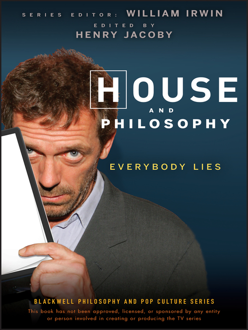 House and Philosophy (eBook): Everybody Lies