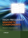 High-Frequency Magnetic Components (eBook)