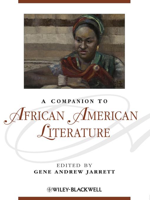 A Companion to African American Literature (eBook)