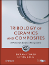 Tribology of Ceramics and Composites (eBook): Materials Science Perspective