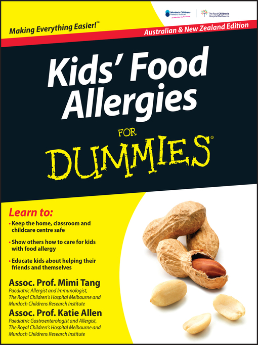 Kids' Food Allergies for Dummies (eBook)