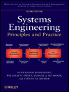 Systems Engineering Principles and Practice (eBook)