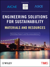 Engineering Solutions for Sustainability (eBook): Materials and Resources