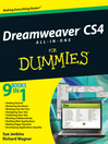 Dreamweaver CS4 All-in-One For Dummies® (eBook)
