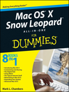Mac OS X Snow Leopard All-in-One For Dummies (eBook)