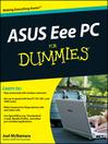 ASUS Eee PC For Dummies® (eBook)