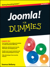 Joomla! For Dummies (eBook)
