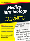Medical Terminology For Dummies® (eBook)