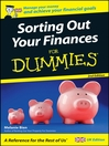 Sorting Out Your Finances For Dummies (eBook)