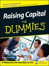 Raising Capital For Dummies (eBook)
