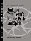 Building Your Team's Morale, Pride, and Spirit (eBook)
