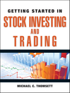 Getting Started in Stock Investing and Trading (eBook): Getting Started In..... Series, Book 89