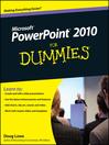 PowerPoint 2010 For Dummies (eBook)