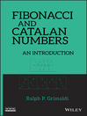 Fibonacci and Catalan Numbers (eBook): An Introduction