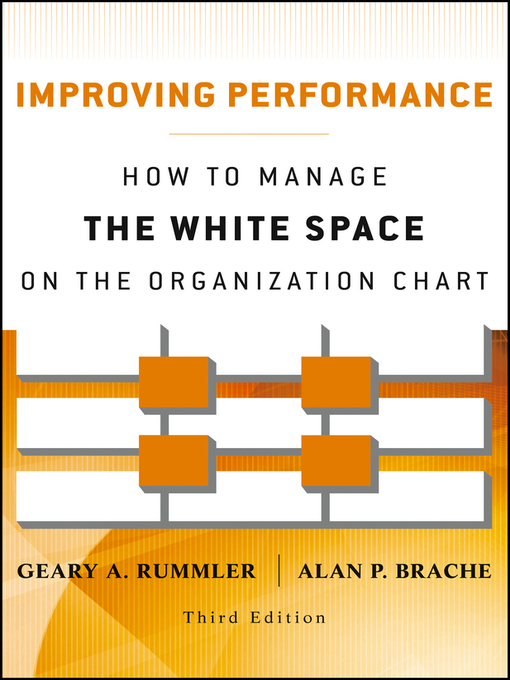 Improving Performance (eBook): How to Manage the White Space on the Organization Chart