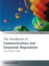 The Handbook of Communication and Corporate Reputation (eBook)
