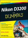 Nikon D3200 For Dummies (eBook)
